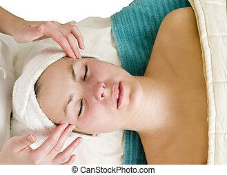 лицевой, массаж