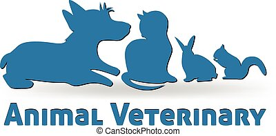 логотип, вектор, pets