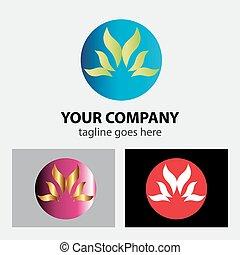 логотип, волна, сфера