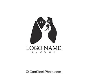 логотип, глава, собака