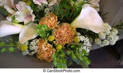магазин, букет, красота, другой, цветы