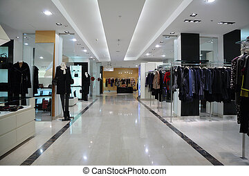 магазин, одежда
