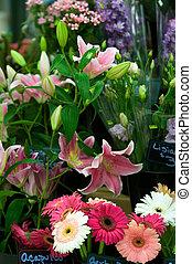 магазин, цветок