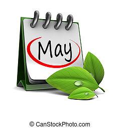 май, календарь