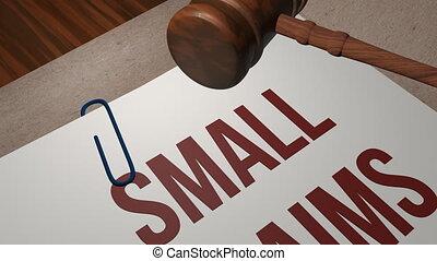 маленький, claims, правовой, концепция