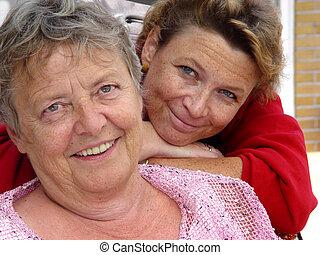 мама, and, дочь