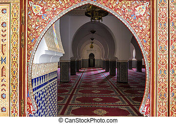 марокканский, архитектура