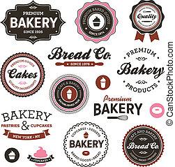 марочный, пекарня, labels