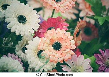 марочный, цветы