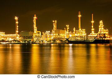 масло, очистительный завод, растение