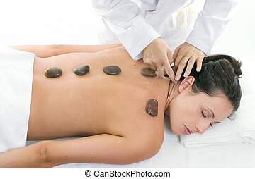 массаж, женский пол, receiving, лечение, relaxing