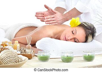 массаж, спа