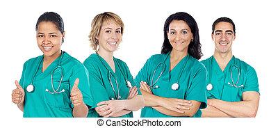 медицинская, команда