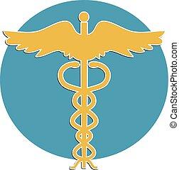 медицинская, символ