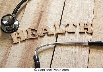 медицинская, and, здоровье, забота, концепция, здоровье