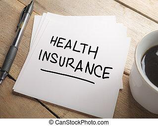 медицинская, and, здоровье, забота, концепция, здоровье, страхование