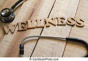 медицинская, and, здоровье, забота, концепция, оздоровительный