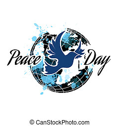 международный, день, of, мир