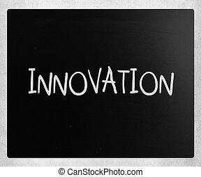 "мел, классная доска, белый, ""innovation"", рукописный"