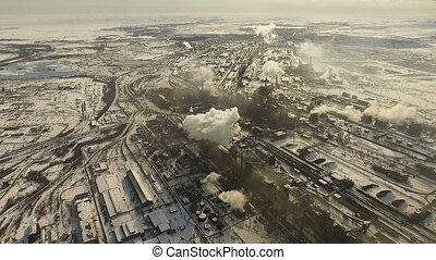 металлургический, plant., pollution., воздух