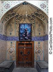 мечеть, дверь