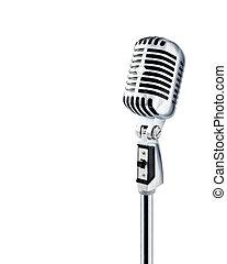 микрофон, ретро