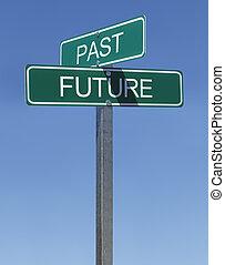 мимо, будущее, знаки