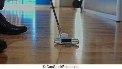 мини, крупный план, гольф, главная