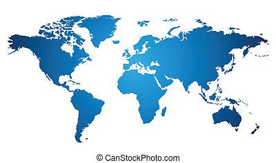 мир, карта