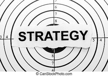 мишень, стратегия
