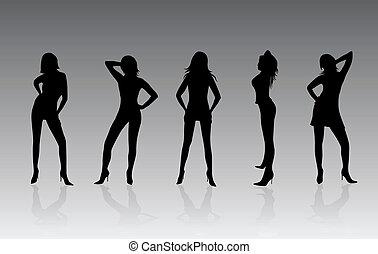 мода, женщины