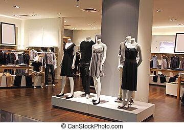 мода, розничная торговля