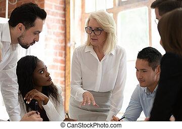 мозговая атака, разнообразный, говорить, вместе, брифинг, businesspeople