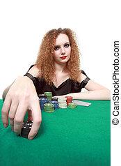 мой, делать ставку, покер, isolated