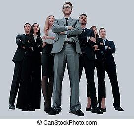 молодой, привлекательный, бизнес, люди, -, , элита, бизнес, команда