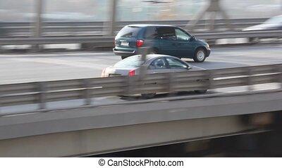 мост, перемещение, легковые автомобили