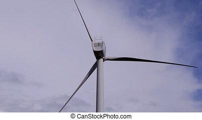 мощность, энергия, turbines, чистый, альтернатива,...
