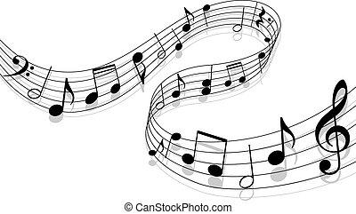 музыка, задний план