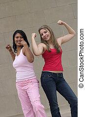 мышца, girls