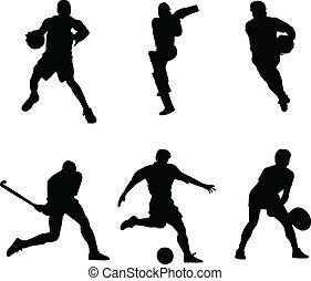 мяч, виды спорта