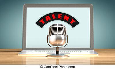 набор персонала, талант, через, интернет