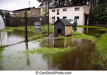 наводнение, время