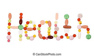 надпись, сделал, здоровье, pills