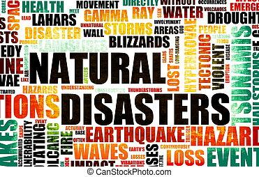 натуральный, disasters