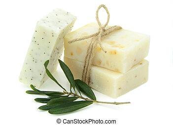 натуральный, vegetal, мыло