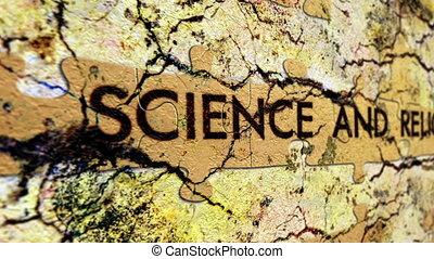 наука, and, религия
