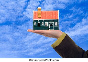 недвижимость, предлагает