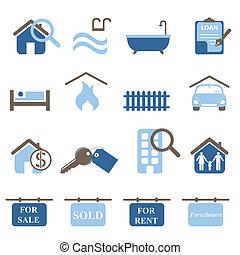 недвижимость, icons