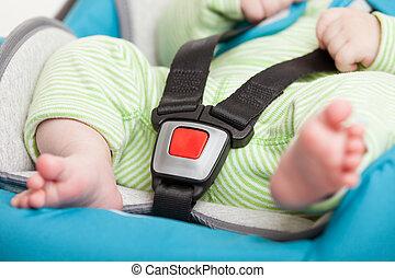 немного, автомобиль, сиденье, безопасность, ребенок, детка