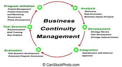 непрерывность, управление, бизнес